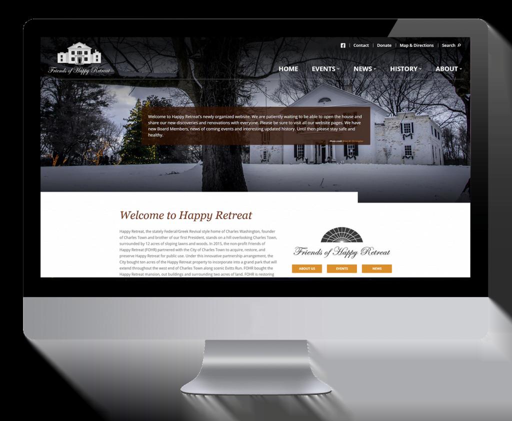 HappyRetreat.org Desktop