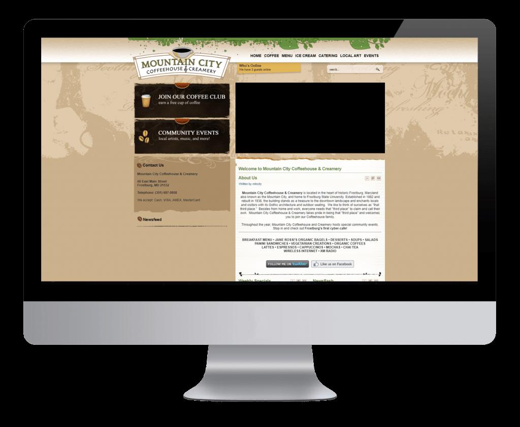 Original Website (Joomla)